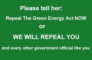 repeal green energy act -Kathleen-Wynne