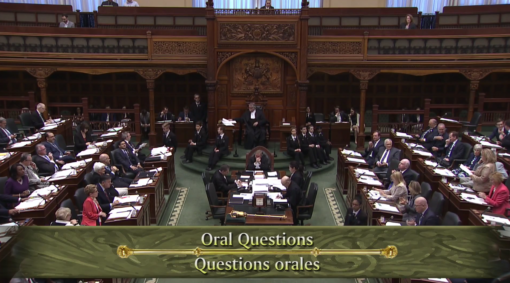 Question Period at Queen's Park
